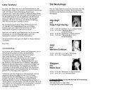 Die Workshops Hip Hop* Jazz Steppen - Tanzwerkstatt Kassel