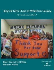 Boys & Girls Clubs of Whatcom County