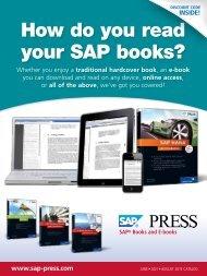 How do you read your SAP books?