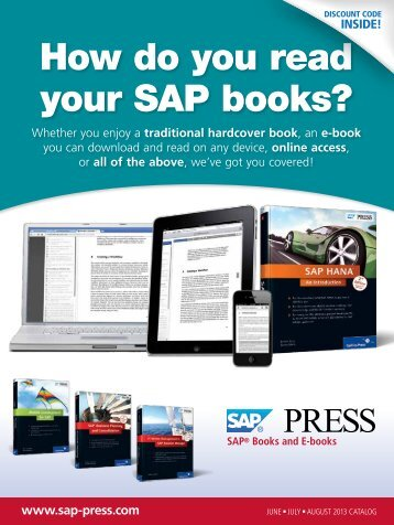 How do you read your SAP books?