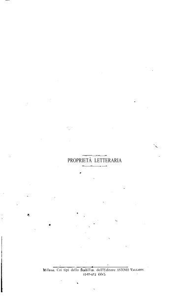 PROPRIETÀ LETTERARIA - eBooksBrasil