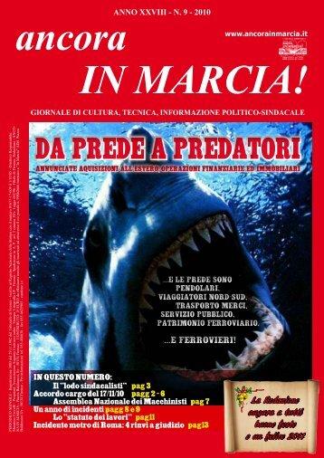 da prede a predatori da prede a predatori - ancora IN MARCIA!