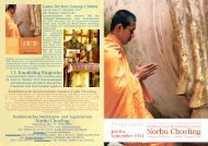 Norbu Choeling 13. Kundeling Rinpoche - Buddhistische ...