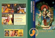 Flyer für Stuttgart - Buddhistische Klosterschule Ganden Tashi ...