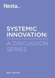 SyStemic innovation: