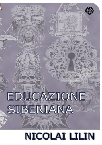 CB025 – Nicolai Lilin – Educazione Siberiana