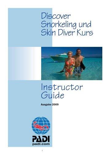 Discover Snorkeling/Skin Diver Course - Tauchen - Reisen ...