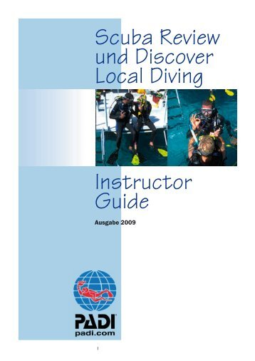 Scuba Review / Discover Local Diving - Tauchen - Reisen - Abenteuer