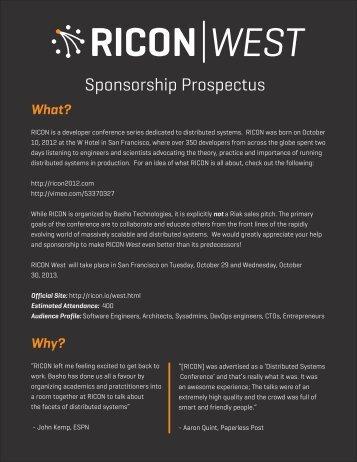 RICON-West-2013-Prospectus