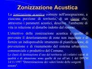 Zonizzazione Acustica del Comune di Parma - Studium