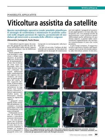 Viticoltura assistita da satellite - MC2 - Precision Farming