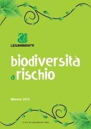 Biodiversità a rischio - Legambiente