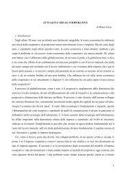 Attualità delle cooperative di Bruno Jossa.pdf - Istituto italiano di ...