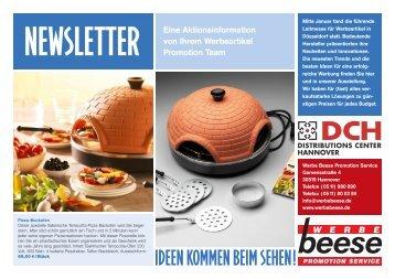 Eine Aktionsinformation von Ihrem Werbeartikel ... - Dchbeese.com