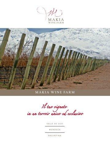 01 - Brochure Makia A4 ita 16 pag.indd - Makia Estate