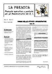 Marzo - aprile 2006 - Policlinico di Modena