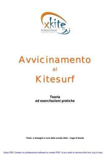 Avvicinamento Kitesurf - Xkite