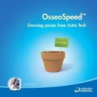 OsseoSpeed™ - Astra Tech