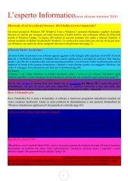 L'esperto Informatico(terza edizione trimestre 2010)