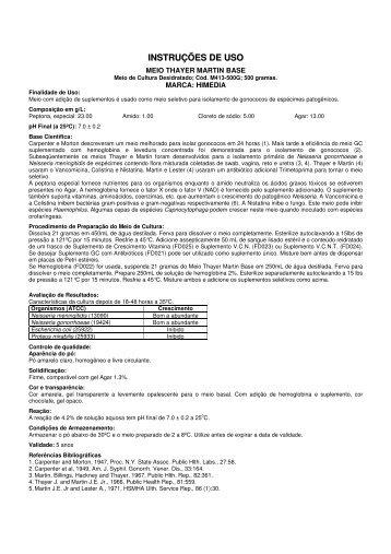 download do catálogo - Biosystems