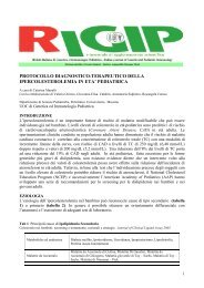 Ipercolesterolemia in età pediatrica - Genetica e Immunologia ...