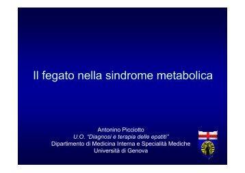 Il fegato nella sindrome metabolica