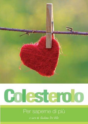 Consulta l'opuscolo - Ridurre il colesterolo