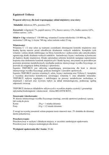 Equistro triforce - Vetoquinol Biowet