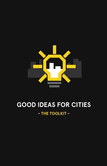 GOOD iDeas fOr cities