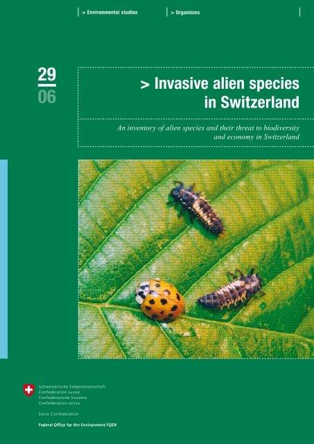 Invasive alien species in Switzerland - Schweizer ...