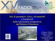 Embolia Polmonare - Fadoi