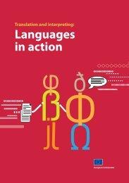 Translation and interpreting - EU Bookshop - Europa
