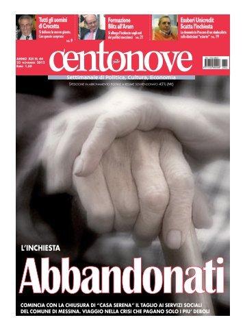 Centonove numero 44-2012 in pdf