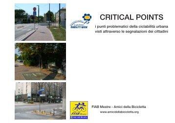 Dossier Critical Points - Amici della Bicicletta di Mestre
