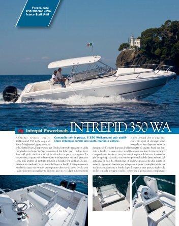 Nautica Intrepid 350 Walkaround 2x300 Verado ... - Mistral Boats