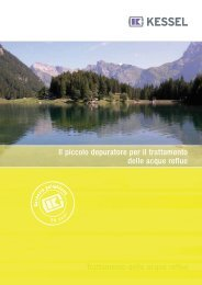 Depuratore biologico DIN 4261 EN 12566 parte 3 - Sole Clima