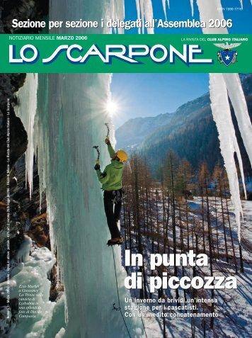Marzo - Club Alpino Italiano
