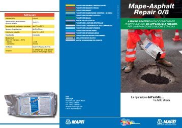 Mape-Asphalt Repair 0/8