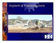Impianti di Frantumazione - PROGETTO SICUREZZA