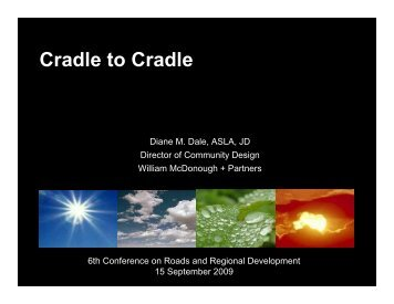 Cradle to Cradle - Partners for roads