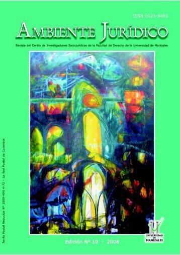 Edición No.10 - Universidad de Manizales