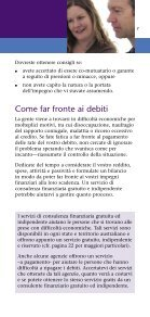 Dealing with debt - language Italian - MoneySmart - Page 7