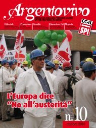 Argentovivo - ottobre 2010 - Spi-Cgil Emilia-Romagna