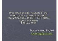 Dott.ssa Irene Baglieri irenebagl@inwind.it - IMC
