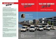 Krankenfahrteninfos zum Downloaden (PDF 1 ... - Taxi-Ruf-Bremen