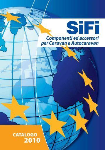 Componenti ed accessori per Caravan e Autocaravan - SiFi