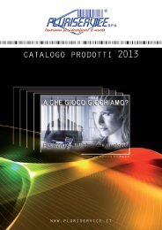 Catalogo Pluriservice SPA in formato PDF