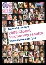 2005 Global Sex Survey results