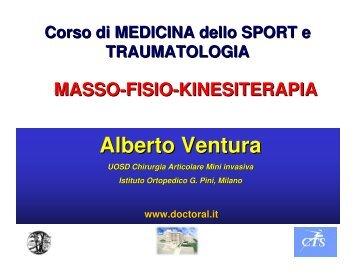 Massofisiokinesiterapia - Dott. Alberto Ventura