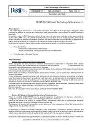 Referenze LTS srl 2005-11 - ltsht.com
